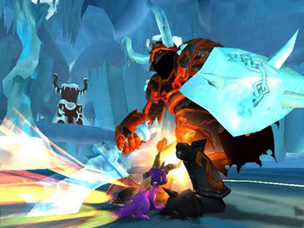 Screenshot ze hry The Legend of Spyro: A New Beginning - Recenze-her.cz
