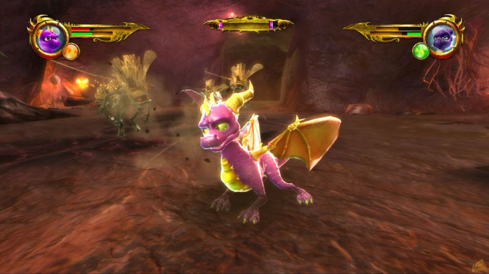 Screenshot ze hry The Legend of Spyro: Dawn of the Dragon - Recenze-her.cz