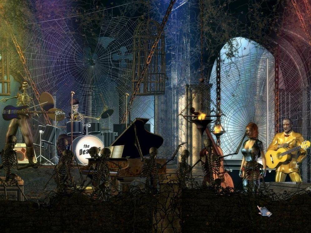 Screenshot ze hry The Rockin´ Dead - Recenze-her.cz