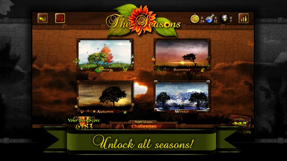 Screenshot ze hry The Seasons - Recenze-her.cz