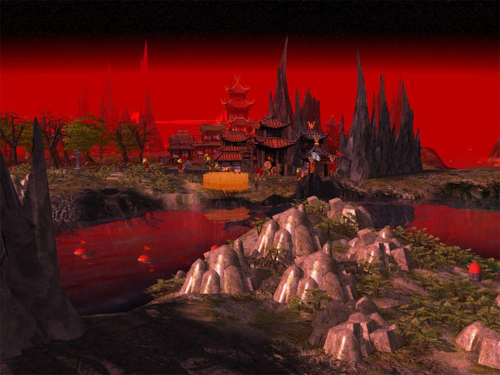 Screenshot ze hry The Settlers II: The Next Generation - Recenze-her.cz