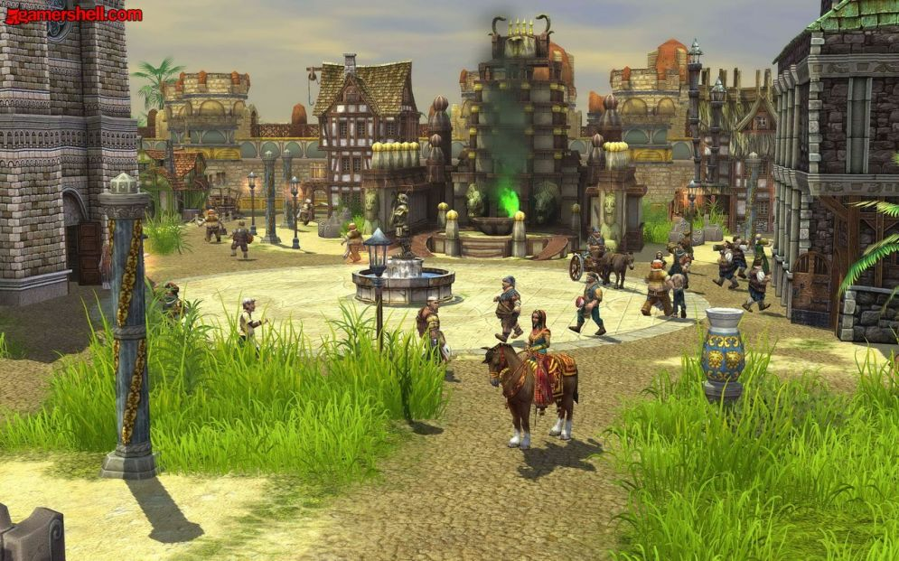 Screenshot ze hry The Settlers: Rise of an Empire - The Eastern Realm - Recenze-her.cz