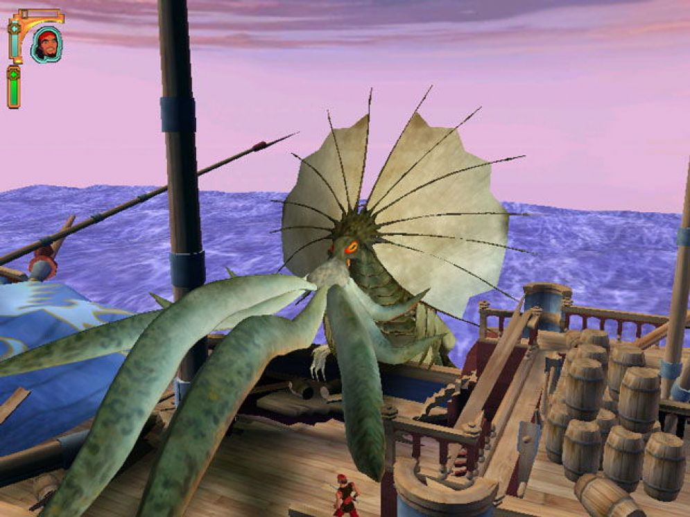 Screenshot ze hry The Sinbad: Legend of the Seven Seas - Recenze-her.cz