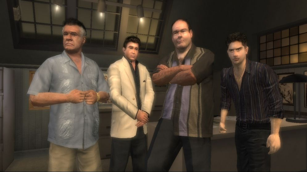 Screenshot ze hry The Sopranos: Road to Respect - Recenze-her.cz