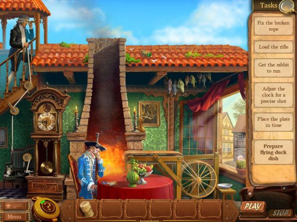 Screenshot ze hry The Surprising Adventures of Munchausen - Recenze-her.cz