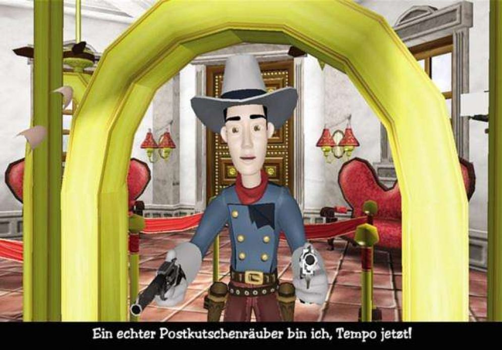 Screenshot ze hry The Westerner - Recenze-her.cz