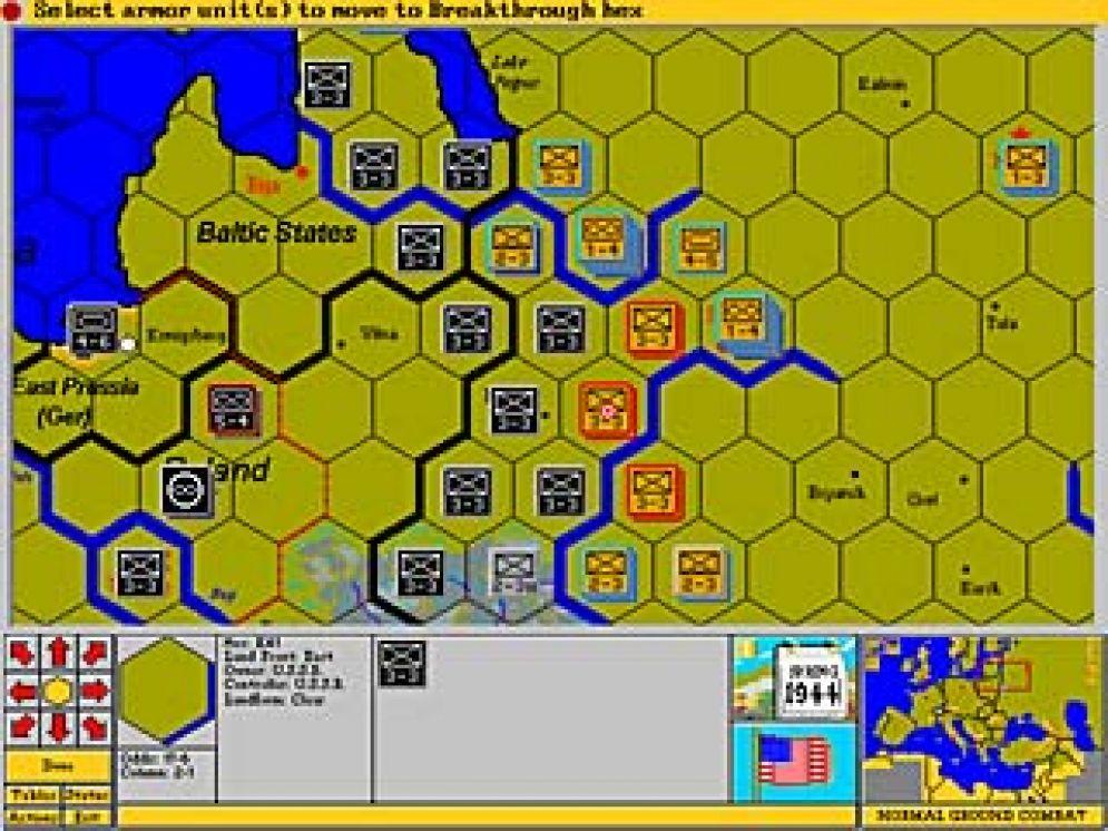 Screenshot ze hry Third Reich - Recenze-her.cz