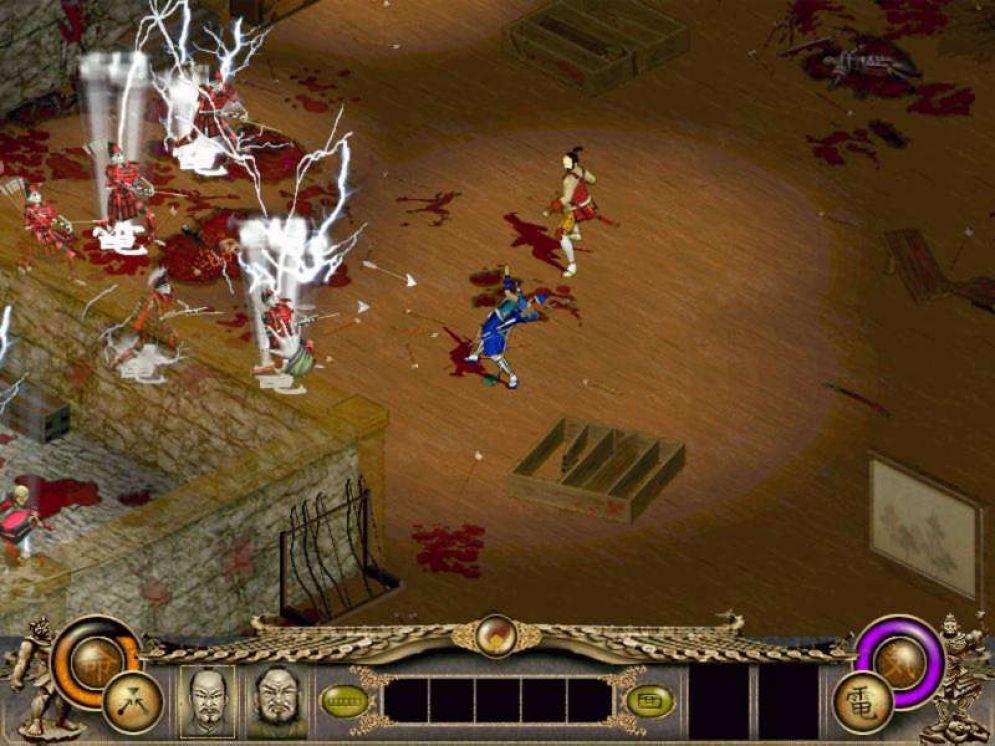 Screenshot ze hry Throne of Darkness - Recenze-her.cz