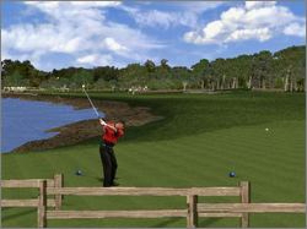 Screenshot ze hry Tiger Woods 99 PGA Tour Golf - Recenze-her.cz