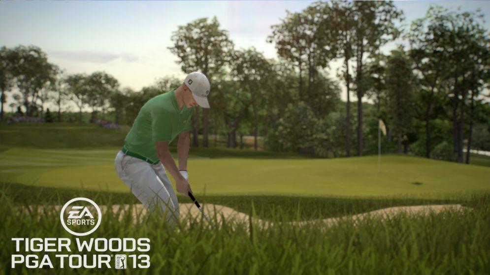 Screenshot ze hry Tiger Woods PGA tour 13 - Recenze-her.cz