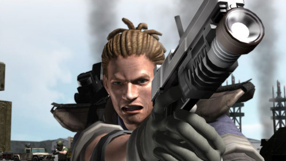 Screenshot ze hry Time Crisis 4 - Recenze-her.cz