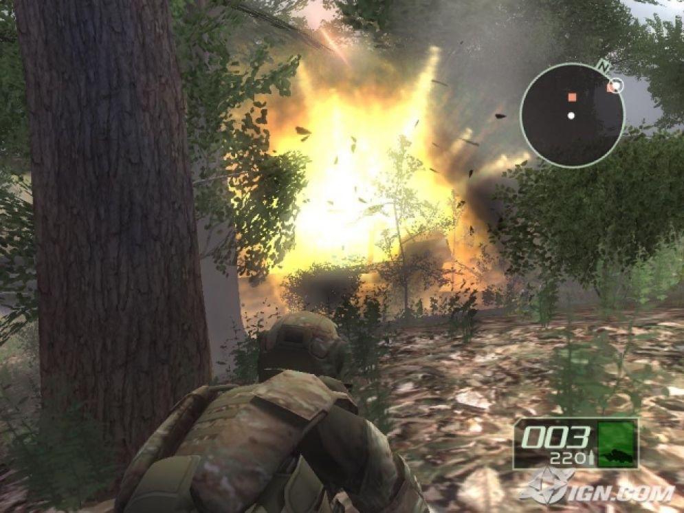 Screenshot ze hry Tom Clancy´s Ghost Recon 2 - Recenze-her.cz