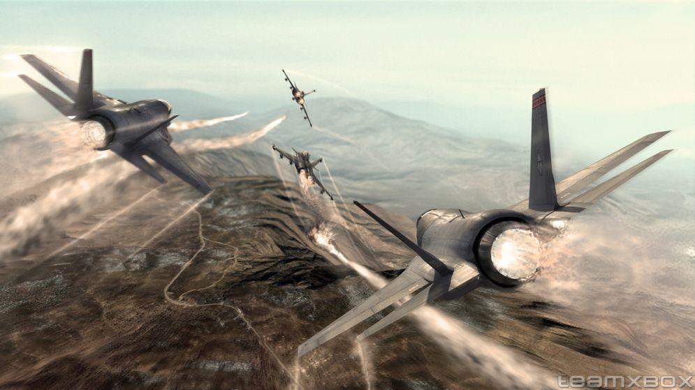 Screenshot ze hry Tom Clancy´s H.A.W.X. - Recenze-her.cz