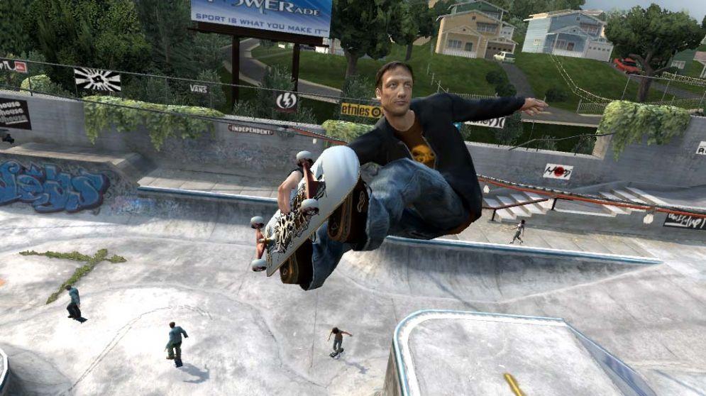 Screenshot ze hry Tony Hawk's Project 8 - Recenze-her.cz