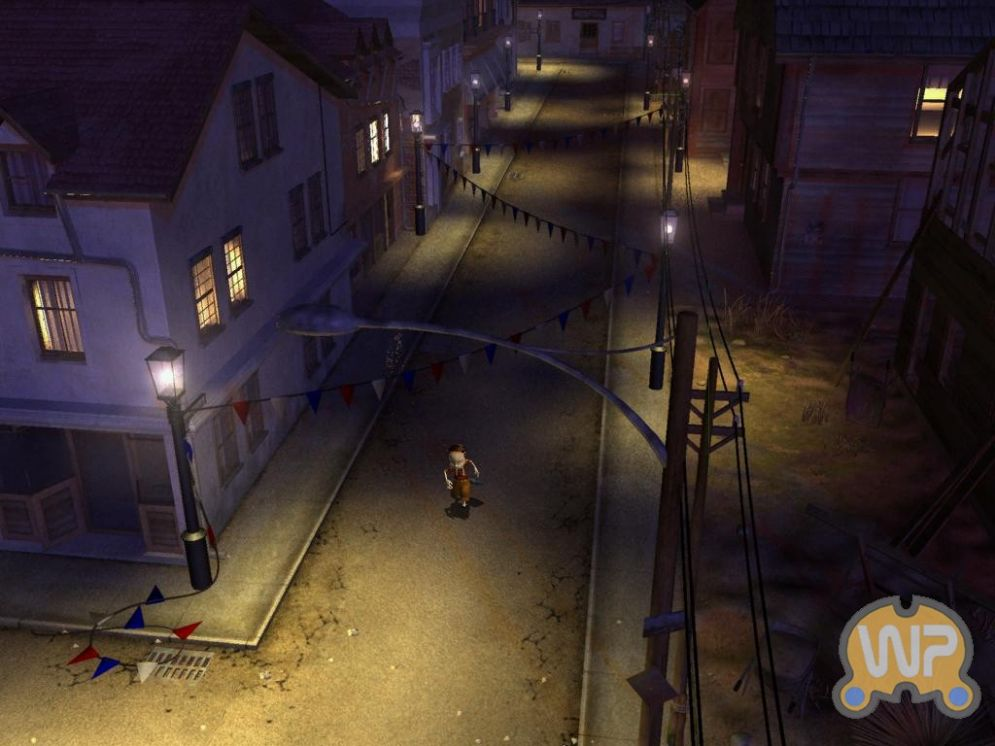 Screenshot ze hry Tony Tough 2 : A Rakes Progress - Recenze-her.cz