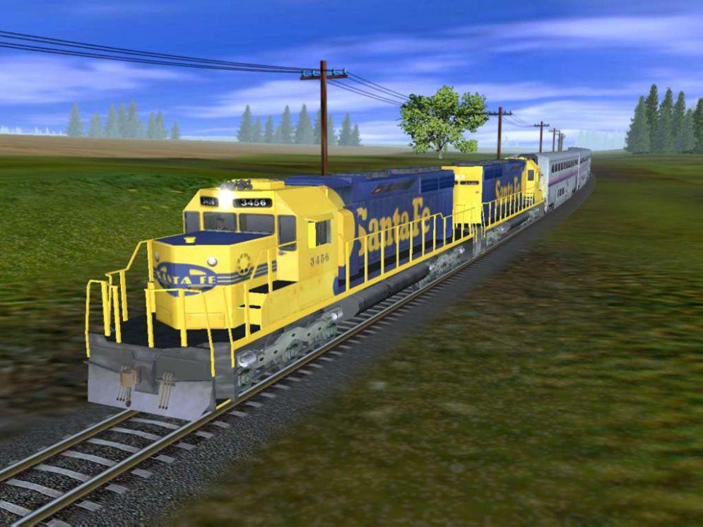 Screenshot ze hry Trainz Railroad Simulator 2006 - Recenze-her.cz