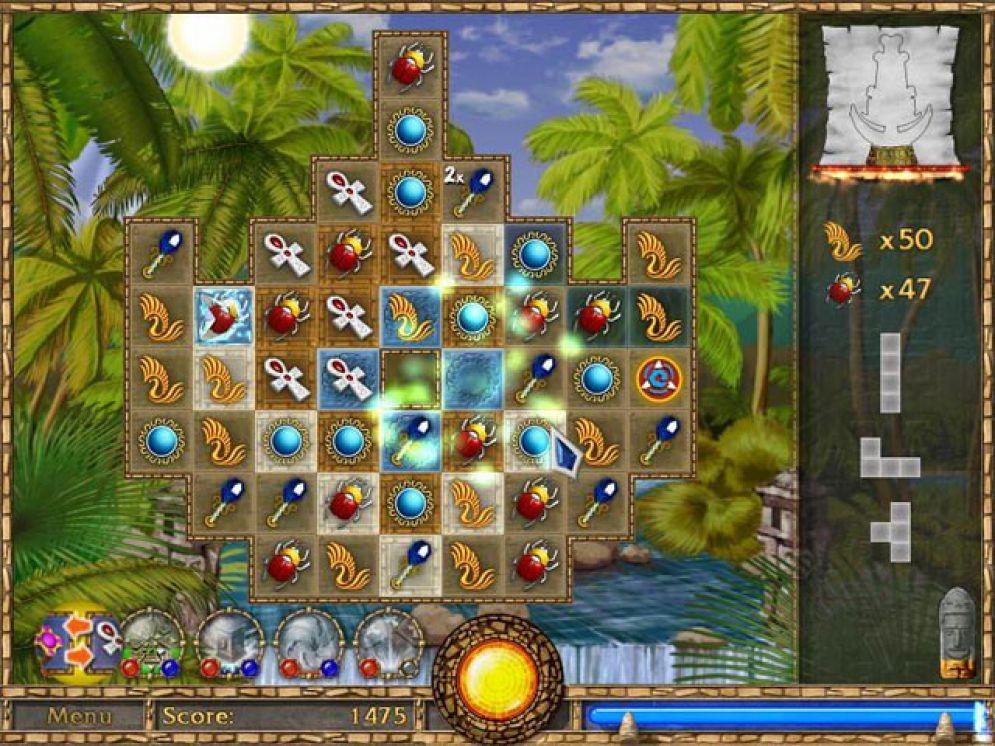 Screenshot ze hry Treasure Puzzle - Recenze-her.cz