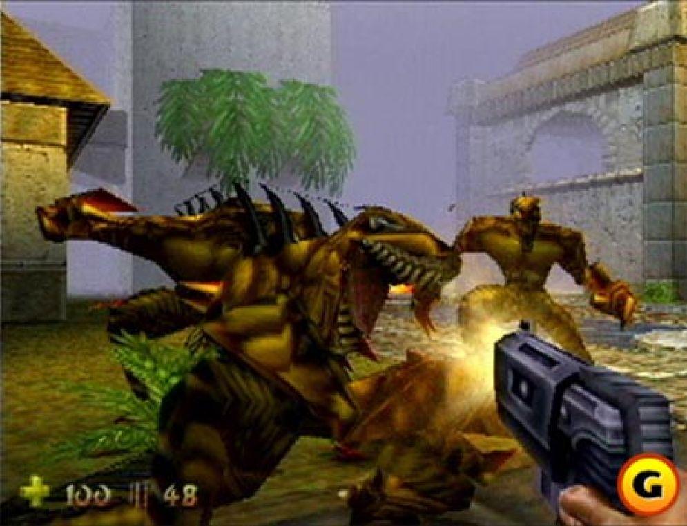 Screenshot ze hry Turok 2: Seeds of Evil - Recenze-her.cz