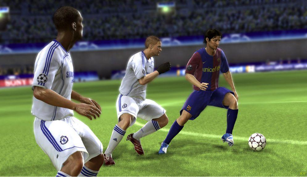 Screenshot ze hry UEFA Champions League 2006-2007 - Recenze-her.cz