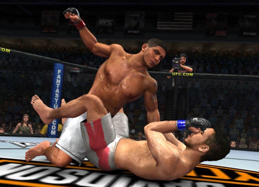 Screenshot ze hry UFC Trainer - Recenze-her.cz