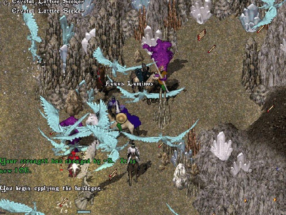 Screenshot ze hry Ultima Online: Mondain´s Legacy - Recenze-her.cz