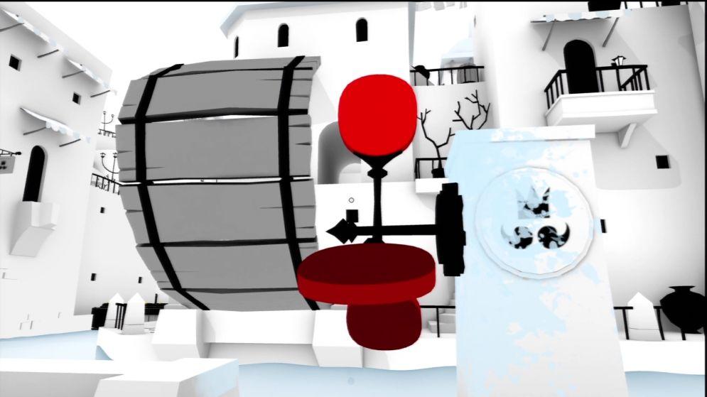 Screenshot ze hry Unfinished Swan - Recenze-her.cz