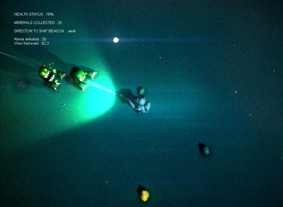 Screenshot ze hry Unknown Planet - Recenze-her.cz