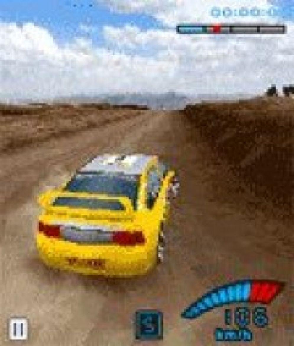 Screenshot ze hry V-rally 3D - Recenze-her.cz