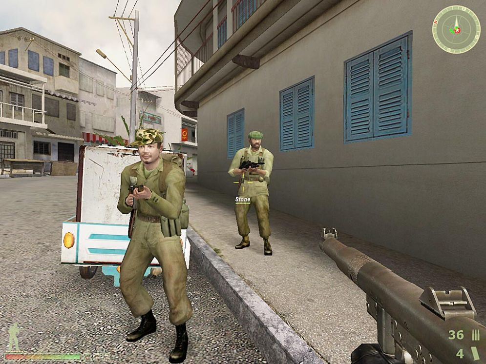 Screenshot ze hry Vietcong 2 - Recenze-her.cz