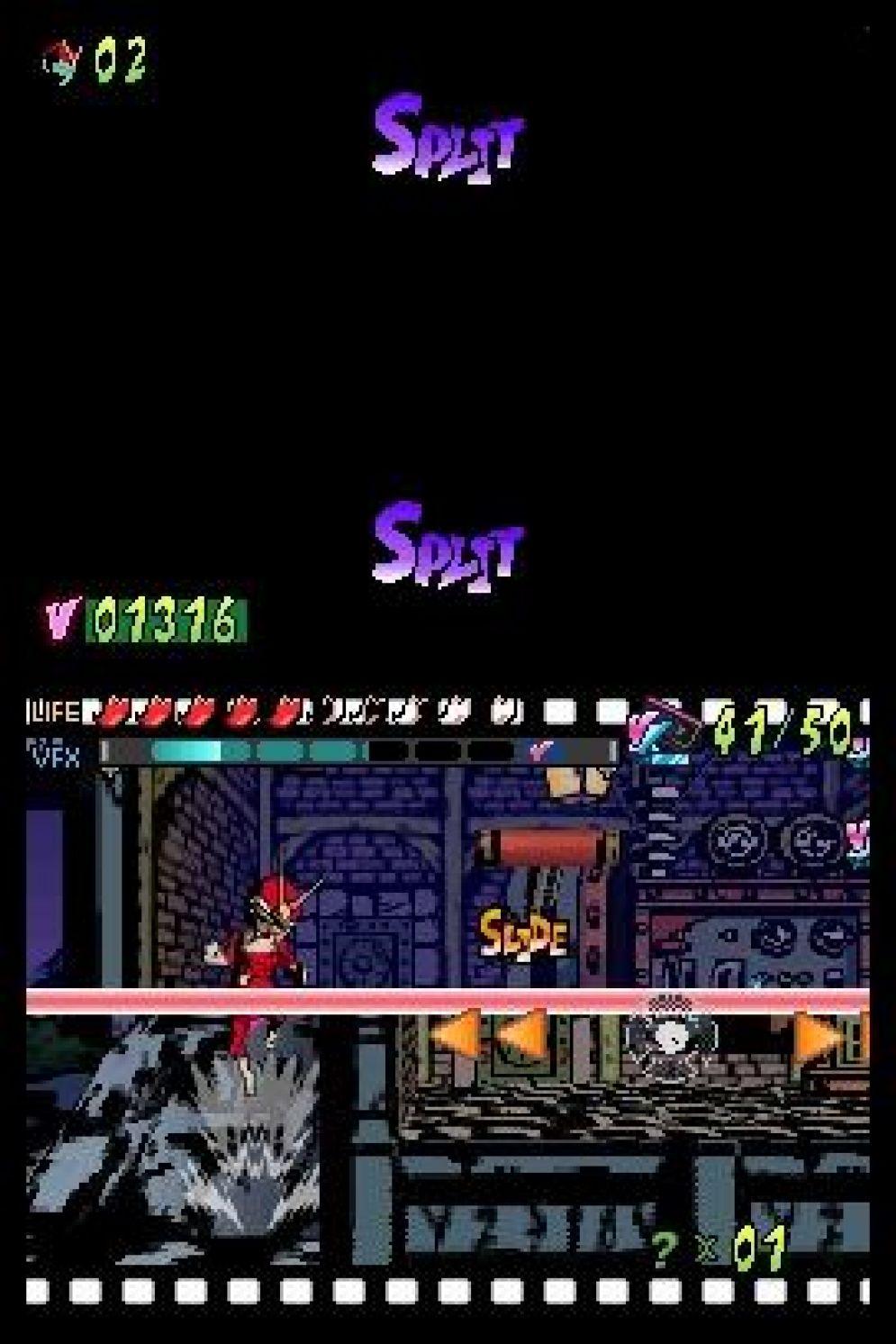 Screenshot ze hry Viewtiful Joe: Double Trouble - Recenze-her.cz