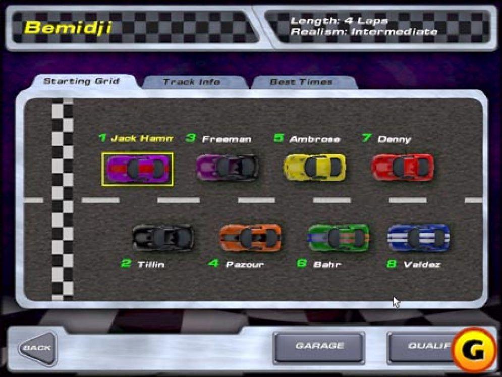 Screenshot ze hry Viper Racing - Recenze-her.cz