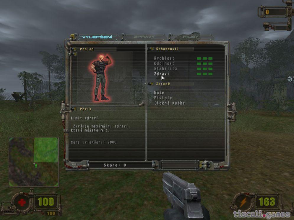 Screenshot ze hry Vivisector: Beast Inside - Recenze-her.cz