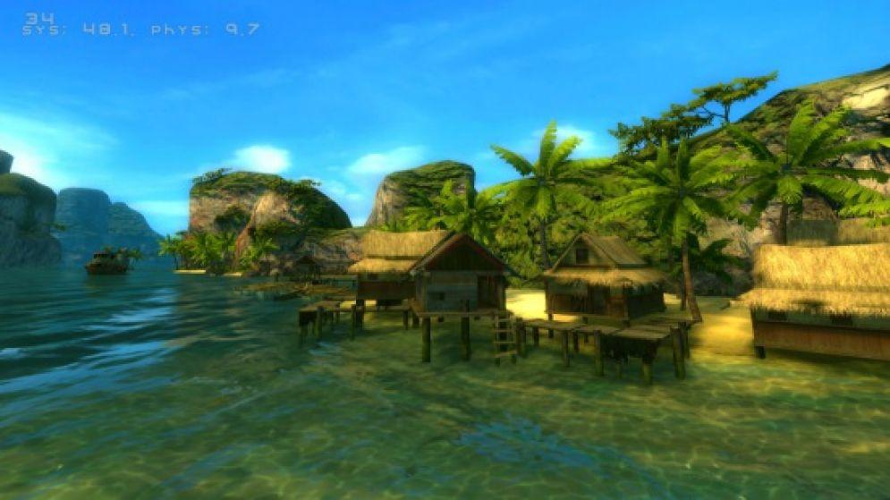 Screenshot ze hry Wakeboarding HD - Recenze-her.cz