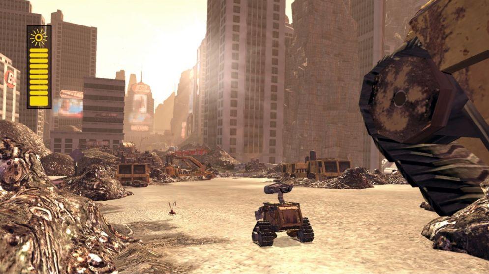 Screenshot ze hry WALL-E - Recenze-her.cz