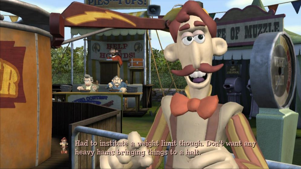 Screenshot ze hry Wallace & Gromit in Muzzled! - Recenze-her.cz