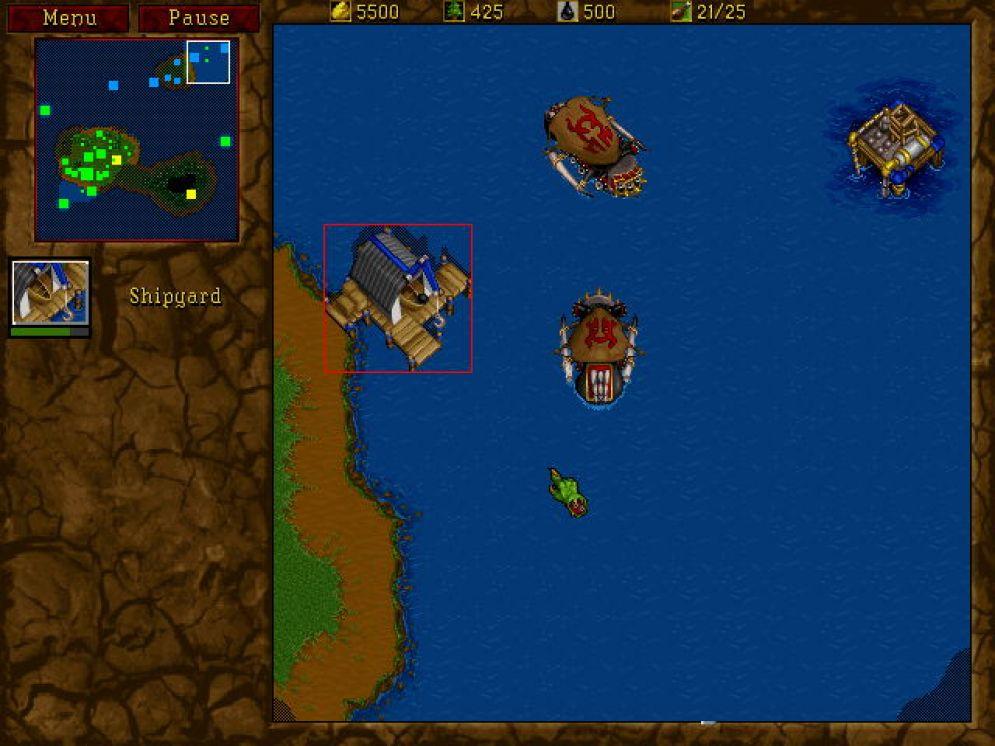 Screenshot ze hry Warcraft 2 Battle.net Edition - Recenze-her.cz