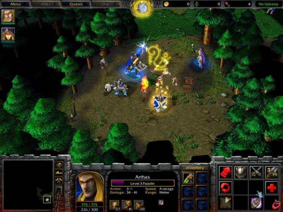 Screenshot ze hry Warcraft 3: Reign Of Chaos - Recenze-her.cz