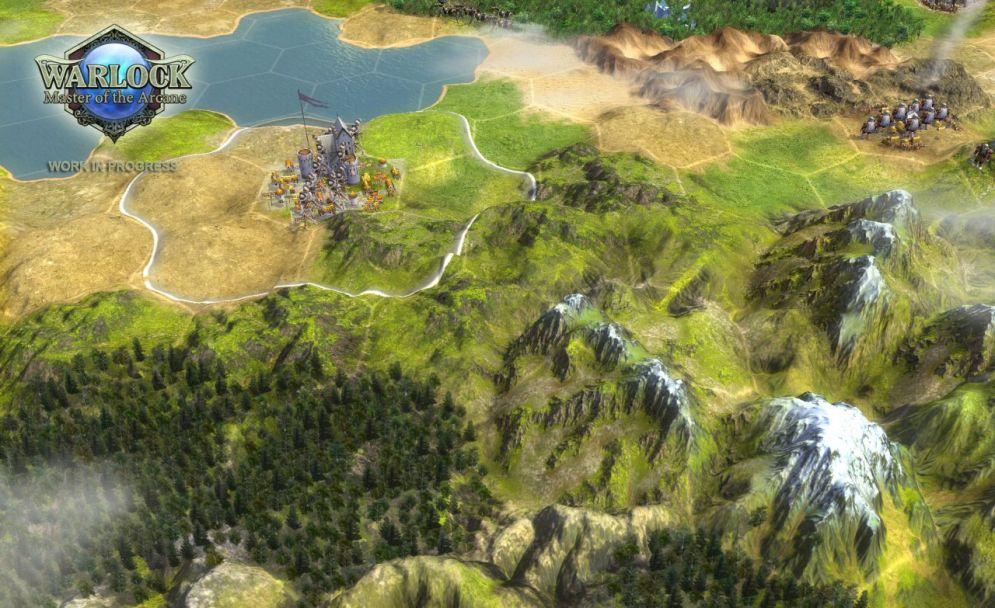 Screenshot ze hry Warlock: Master of the Arcane - Recenze-her.cz