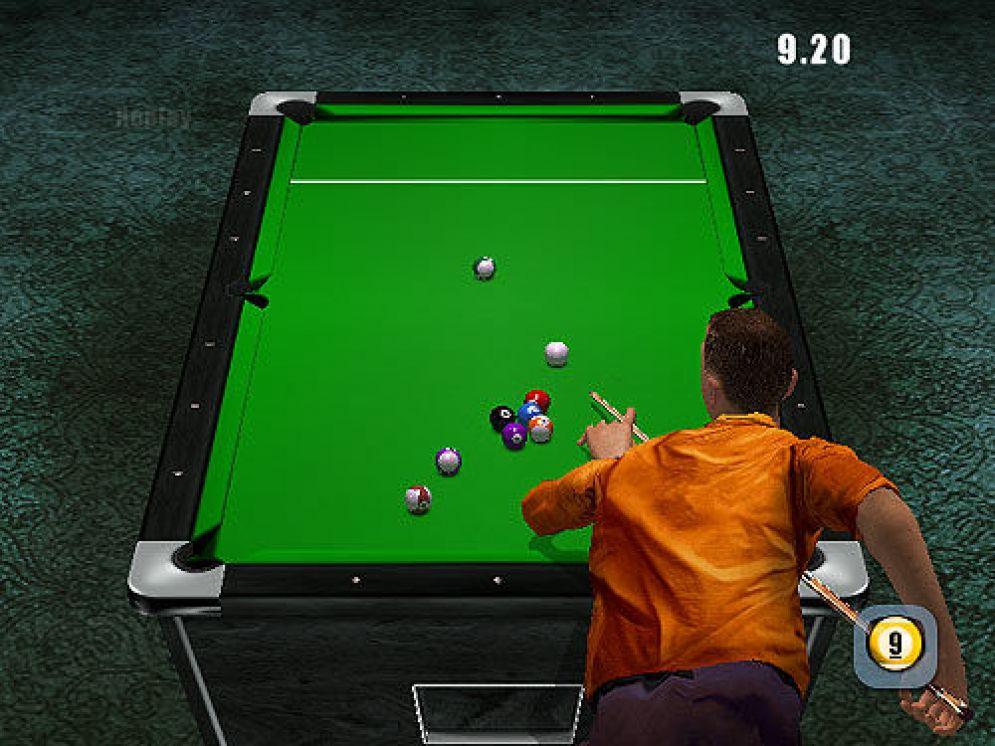Screenshot ze hry World Championship Pool 2004 - Recenze-her.cz