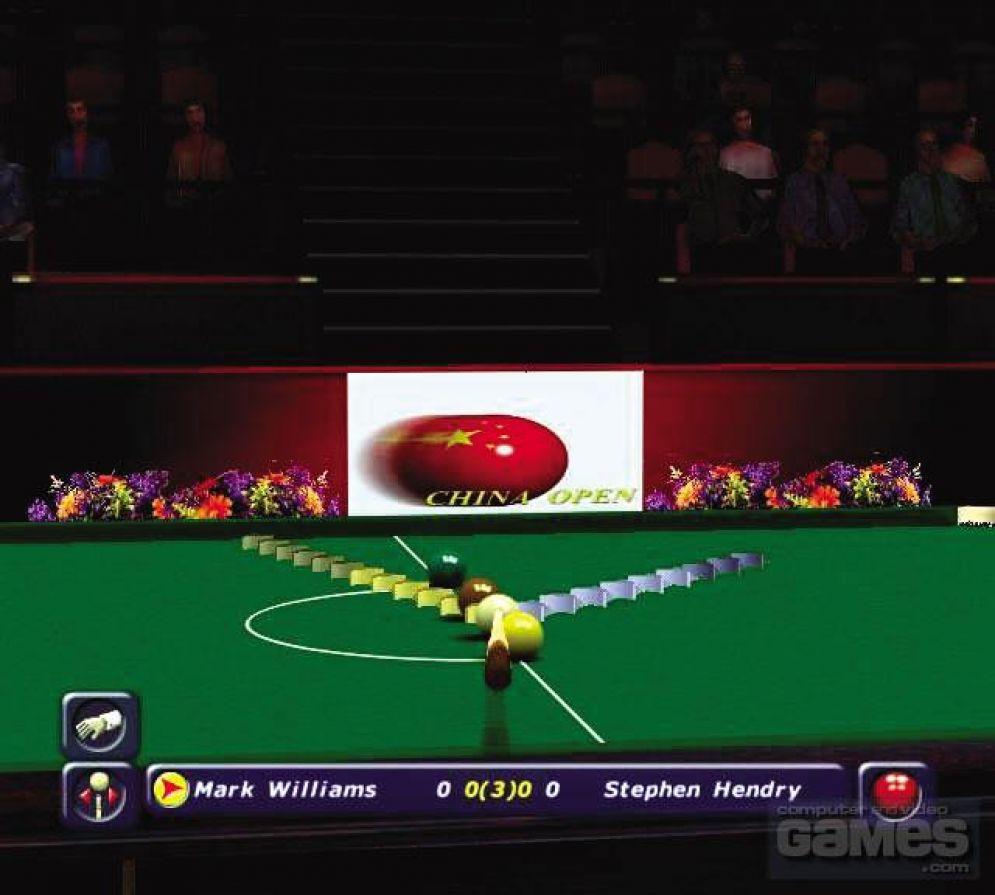Screenshot ze hry World Championship Snooker 2002 - Recenze-her.cz