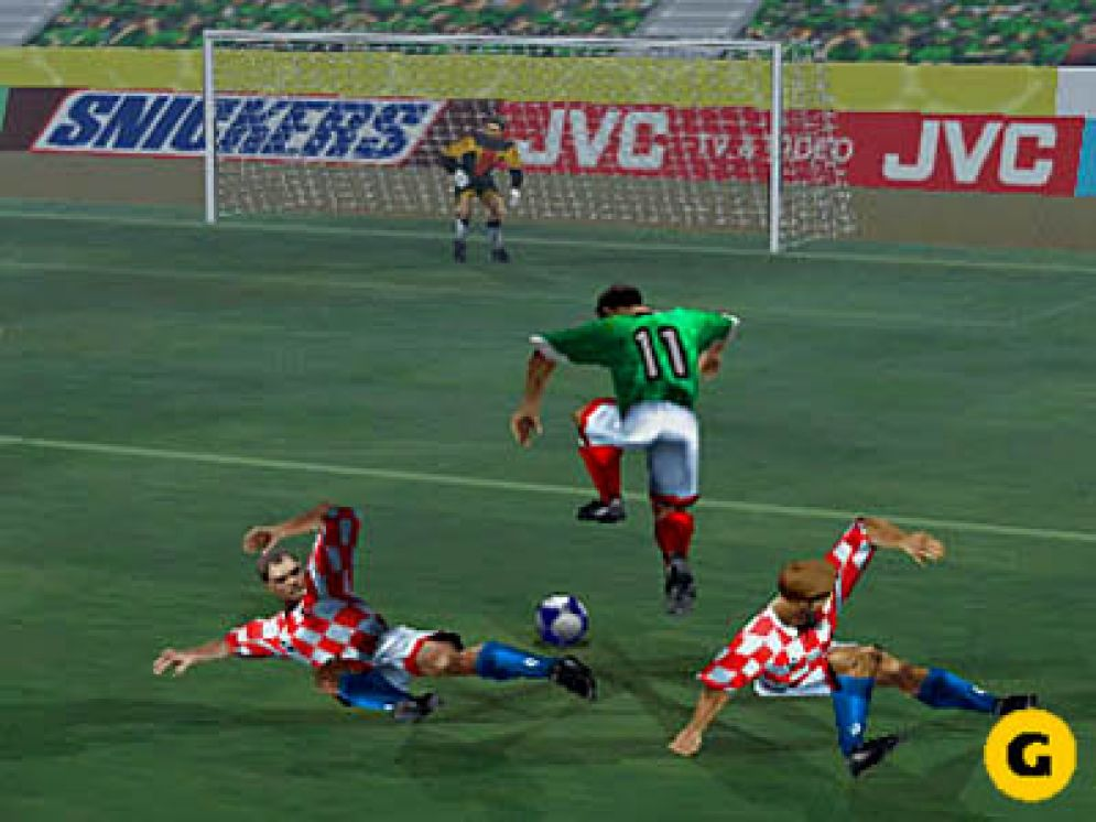 Screenshot ze hry World Cup ´98 - Recenze-her.cz