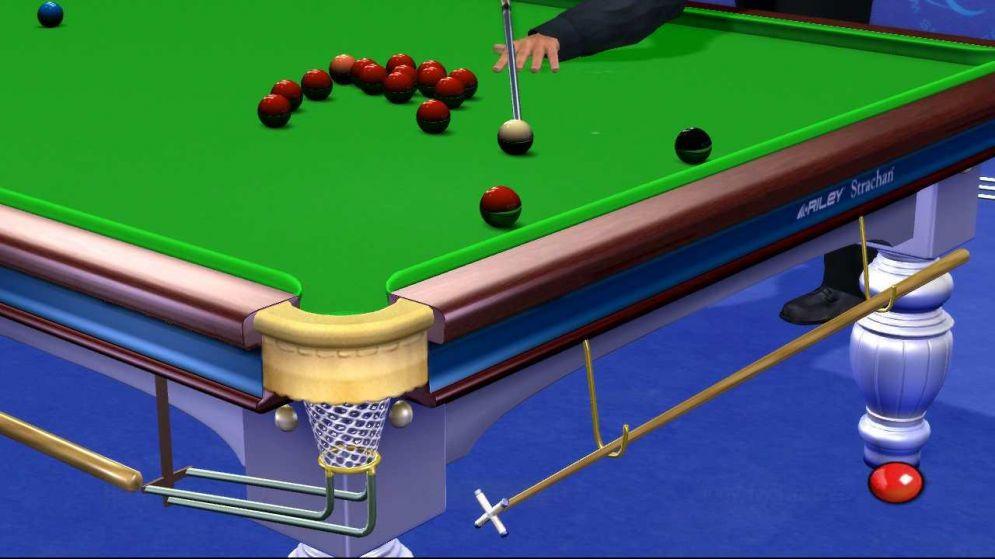 Screenshot ze hry World Pool Championship 2007 - Recenze-her.cz