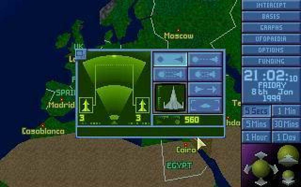 Screenshot ze hry X-COM: Collector´s Edition - Recenze-her.cz