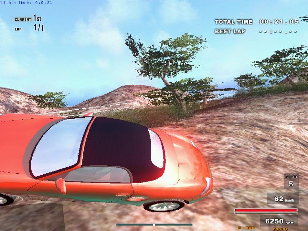 Screenshot ze hry X Motor Racing - Recenze-her.cz