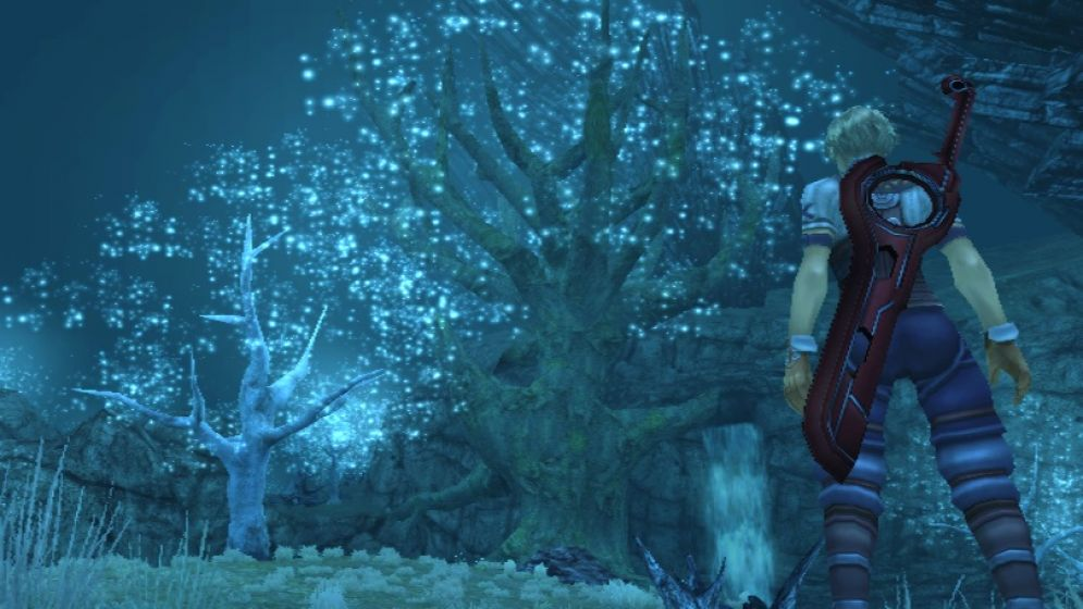 Screenshot ze hry Xenoblade Chronicles - Recenze-her.cz